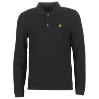 Textiel Heren Polo's lange mouwen Lyle & Scott LP400VB-574 Zwart