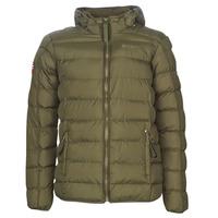 Textiel Heren Dons gevoerde jassen Geographical Norway BALANCE-KAKI Kaki