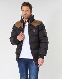 Textiel Heren Dons gevoerde jassen Geographical Norway ABRAMOVITCH-NOIR Zwart