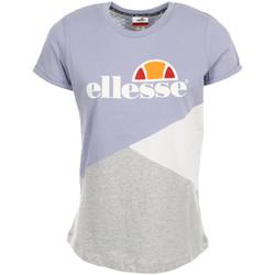 Textiel Dames T-shirts korte mouwen Ellesse Wn's TMC Tricolore Violet