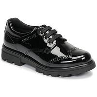 Schoenen Meisjes Derby Pablosky 335419 Zwart