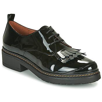 Schoenen Dames Derby Fericelli LEONA Zwart