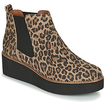 Schoenen Dames Laarzen Fericelli LORNA Bruin