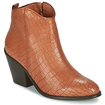 Schoenen Dames Enkellaarzen Fericelli LISA Bruin