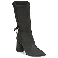 Schoenen Dames Hoge laarzen Fericelli LUCIANA Zwart