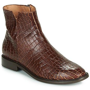 Schoenen Dames Laarzen Fericelli LANAELLE Bruin