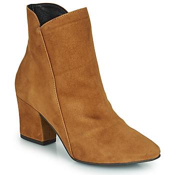 Schoenen Dames Enkellaarzen Fericelli JORDENONE Camel