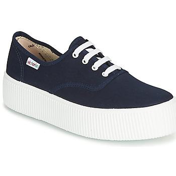 Schoenen Dames Lage sneakers Victoria 1915 DOBLE LONA Marine