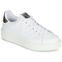 Schoenen Dames Lage sneakers Victoria UTOPIA RELIEVE PIEL Wit