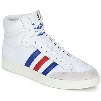 Schoenen Hoge sneakers adidas Originals AMERICANA HI Wit / Blauw / Rood