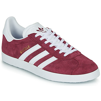 Schoenen Lage sneakers adidas Originals GAZELLE Bordeau