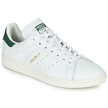 Schoenen Lage sneakers adidas Originals STAN SMITH Wit / Groen