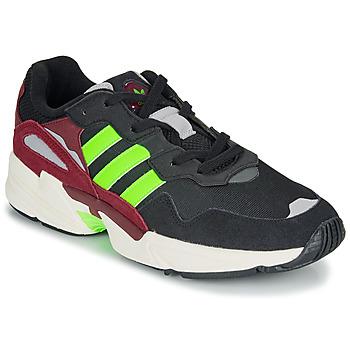 Schoenen Heren Lage sneakers adidas Originals YUNG-96 Zwart / Groen