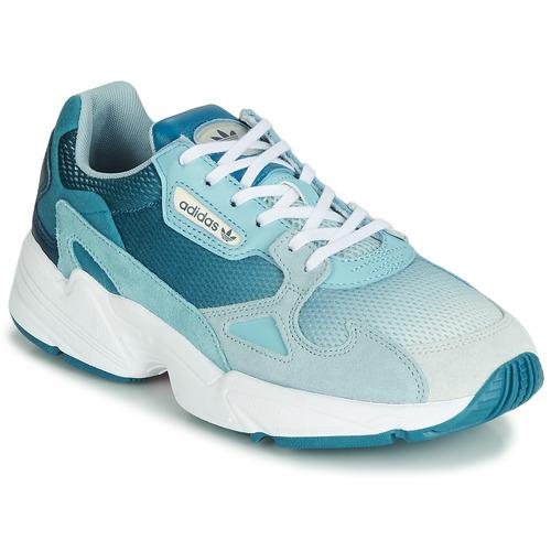 Schoenen Dames Lage sneakers adidas Originals FALCON W Blauw