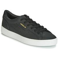 Schoenen Dames Lage sneakers adidas Originals SLEEK W Zwart