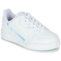 Schoenen Kinderen Lage sneakers adidas Originals CONTINENTAL 80 C Wit / Blauw