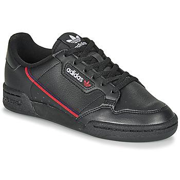 Schoenen Kinderen Lage sneakers adidas Originals CONTINENTAL 80 J Zwart