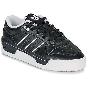Schoenen Kinderen Lage sneakers adidas Originals RIVALRY LOW J Zwart