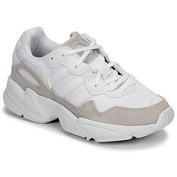 Schoenen Kinderen Lage sneakers adidas Originals YUNG-96 J Beige