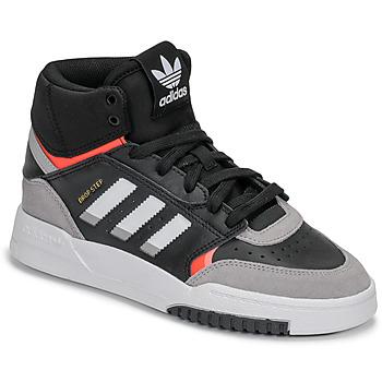 Schoenen Jongens Hoge sneakers adidas Originals DROP STEP J Zwart / Grijs