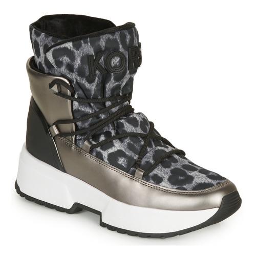 Schoenen Dames Snowboots MICHAEL Michael Kors CASSIA BOOTIE Luipaard