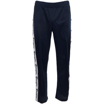 Textiel Heren Trainingsbroeken Champion Straight Hem Pants Men's Blauw