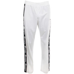 Textiel Heren Trainingsbroeken Champion Straight Hem Pants Men's Wit
