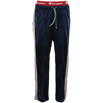 Textiel Dames Trainingsbroeken Champion Straight Hem Pants Blauw