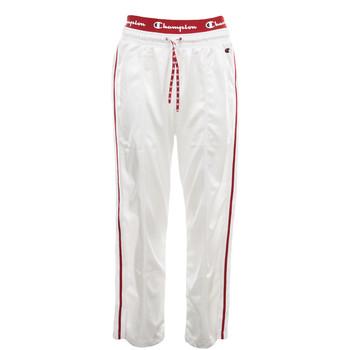 Textiel Dames Trainingsbroeken Champion Straight Hem Pants Wit