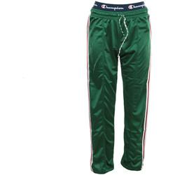 Textiel Dames Trainingsbroeken Champion Straight Hem Pants Groen