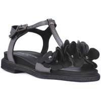 Schoenen Dames Sandalen / Open schoenen Sono Italiana NERO LAMINATO Nero