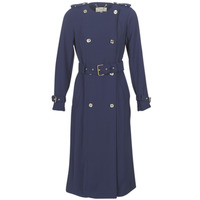 Textiel Dames Trenchcoats MICHAEL Michael Kors COLLARLESS TRENCH Marine