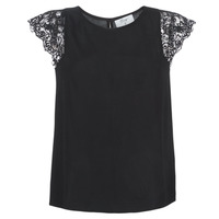 Textiel Dames Tops / Blousjes Betty London LONDON Zwart