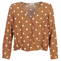 Textiel Dames Tops / Blousjes Betty London LOUISIANA Camel