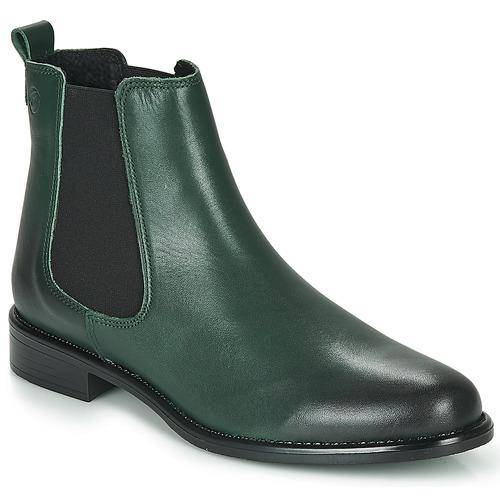 Schoenen Dames Laarzen Betty London NORA Groen