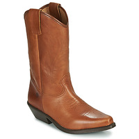 Schoenen Dames Hoge laarzen Betty London LOVA Cognac