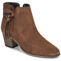Schoenen Dames Enkellaarzen Betty London HEIDI Cognac