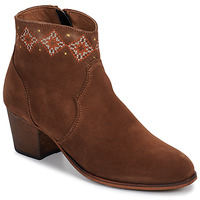 Schoenen Dames Enkellaarzen Betty London LAURE-ELISE Camel