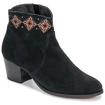 Schoenen Dames Enkellaarzen Betty London LAURE-ELISE Zwart