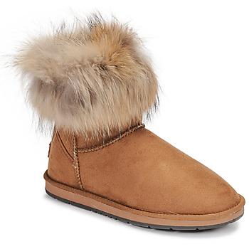 Schoenen Dames Laarzen Kaleo JADES Camel