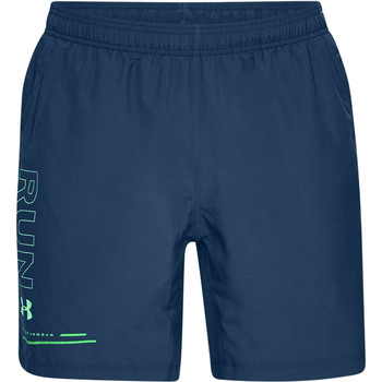 Textiel Heren Korte broeken / Bermuda's Under Armour Speed Stride Graphic 7'' Woven Short 1326569-437