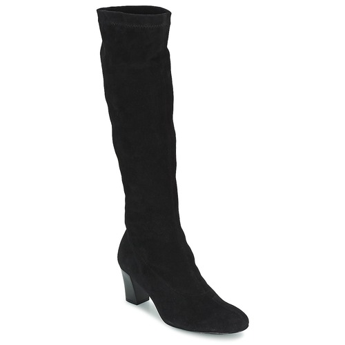 Schoenen Dames Hoge laarzen Robert Clergerie PASSAC Zwart