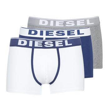 Ondergoed Heren Boxershorts Diesel DAMIEN Wit / Marine / Grijs