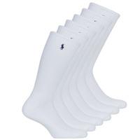 Accessoires Heren Sokken Polo Ralph Lauren ASX110 6PK CR PP-CREW-6 PACK Wit