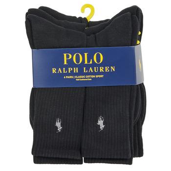 Polo Ralph Lauren ASX110CREW PP-SOCKS-6 PACK