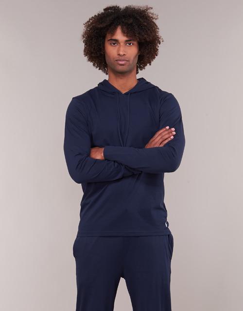 Textiel Heren Sweaters / Sweatshirts Polo Ralph Lauren L/S HOODIE-HOODIE-SLEEP TOP Marine