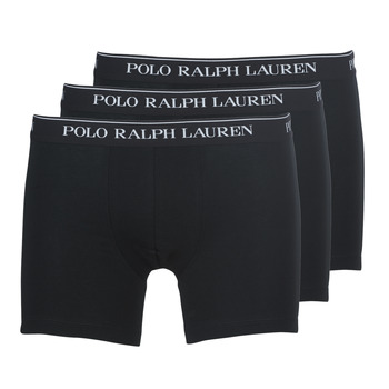 Ondergoed Heren Boxershorts Polo Ralph Lauren BOXER BRIEF-3 PACK Zwart