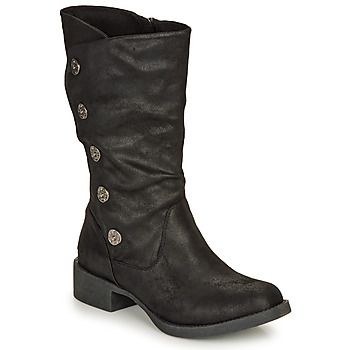 Schoenen Dames Hoge laarzen Blowfish Malibu KEEDA Zwart
