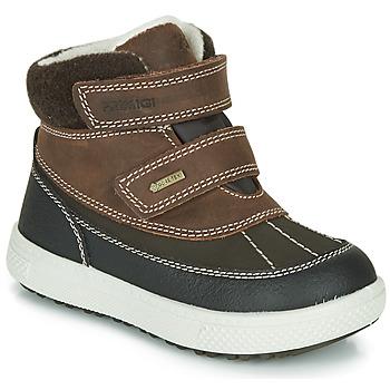 Schoenen Jongens Laarzen Primigi PEPYS GORE-TEX Bruin