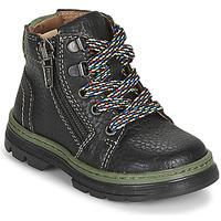 Schoenen Jongens Laarzen Primigi PLAY TRACK Zwart
